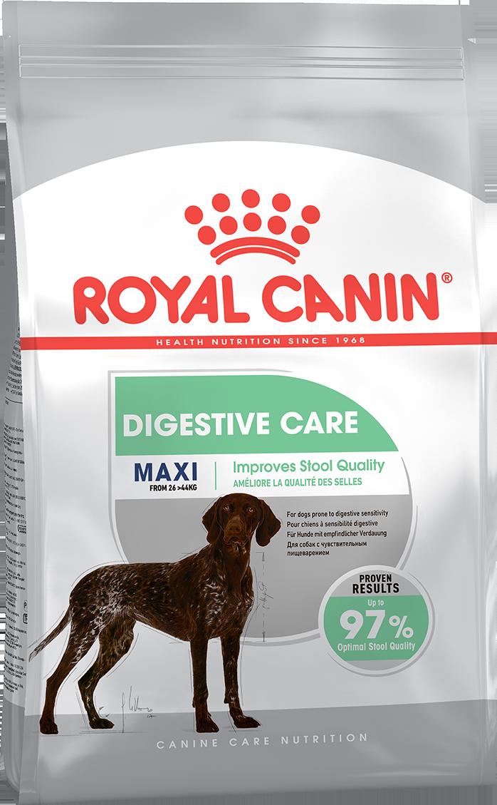 Сухой корм Корм для собак, Royal Canin Maxi Digestive Care, с чувствительной пищеварительной системой пищеварения 337030.png