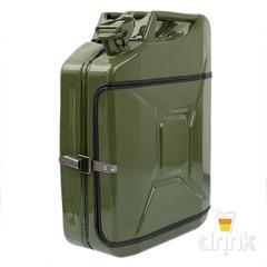 Бар-канистра «Заначка от жены» 20 л, зеленая, фото 3
