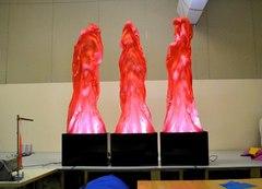 Имитация пламени высота 2м
