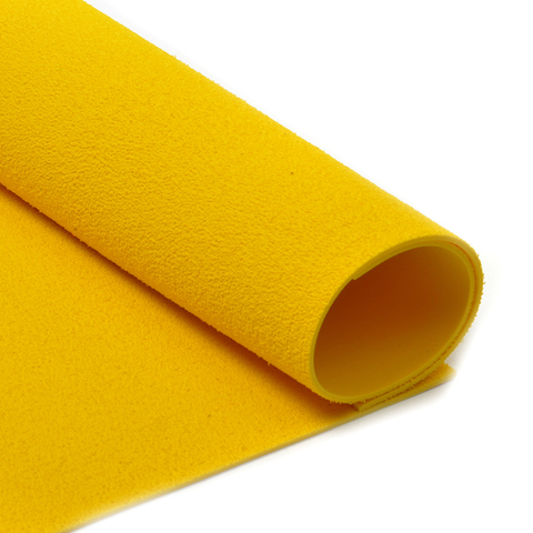 Фоамиран 2мм махровый. Цвет: желтый
