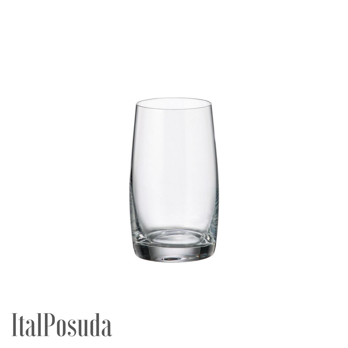Набор стаканов для воды Bohemia Pavo Ideal (Паво Идеал), 6шт BOHEMIA16222