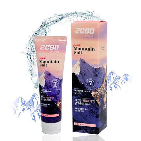 Зубная паста розовая Гималайская соль Aekyung Dental Clinic 2080 Pure Mountain Salt Pink 120 гр