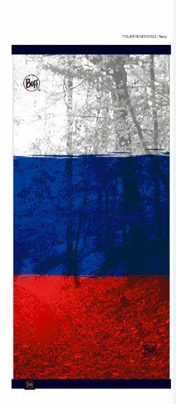 Шарф-трансформер Шарф-трансформер с подкладкой из флиса Buff Russian Flag BUFF_RUSSIAN_FLAG_POLAR_REVERSIBLE.JPG