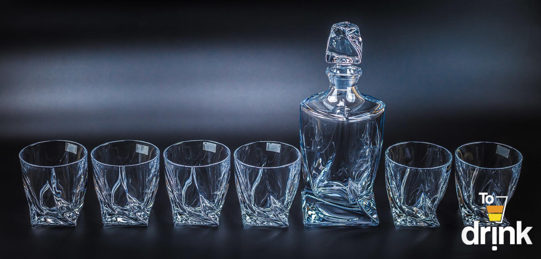 Набор для виски 7 предметов QUADRO elff ceramics набор для виски 7 предметов