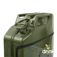 Бар-канистра «Заначка от жены» 20 л, зеленая, фото 4