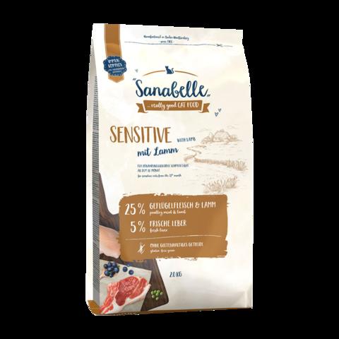 Bosch Sanabelle Sensitive Сухой корм для кошек с чувствительным желудком с ягненком
