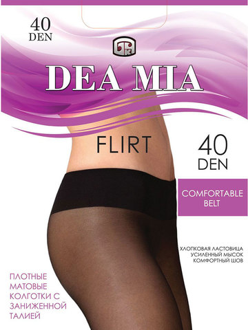 Колготки Flirt 40 Dea Mia