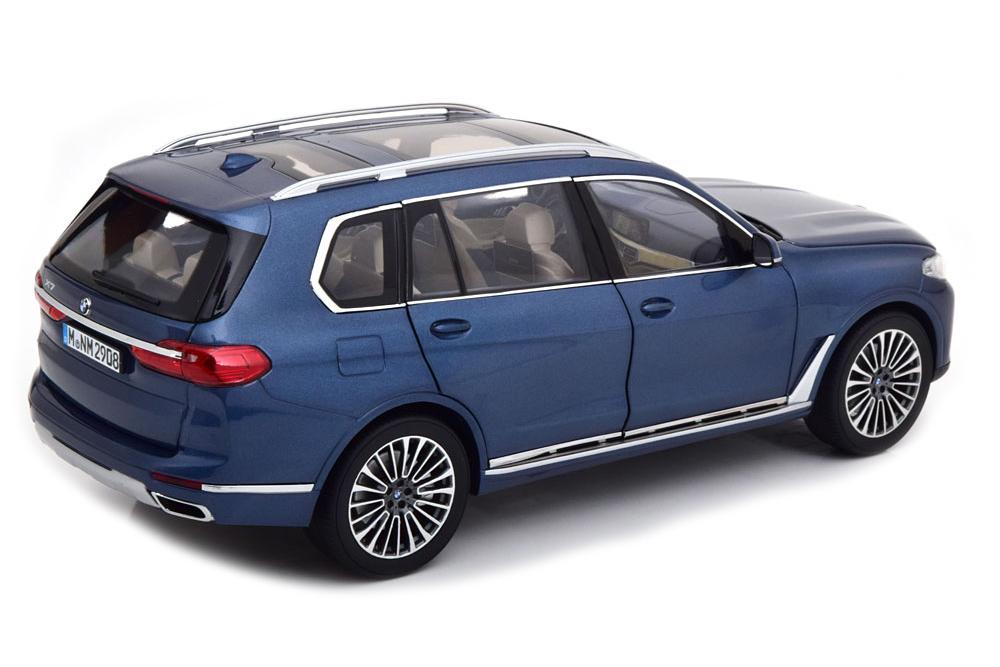 Коллекционная модель BMW G07 X7 2020 BLUE METALLIC