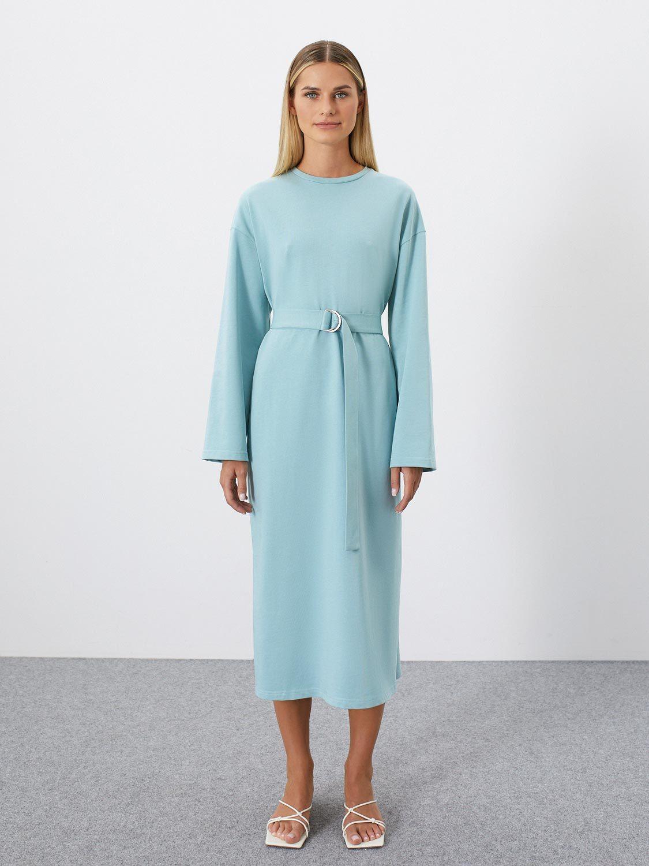 Платье Beverly трикотажное, Светло-зеленый