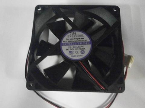 Вентилятор QUATTRO ELEMENTI 24В 92*92*25мм (30600012)