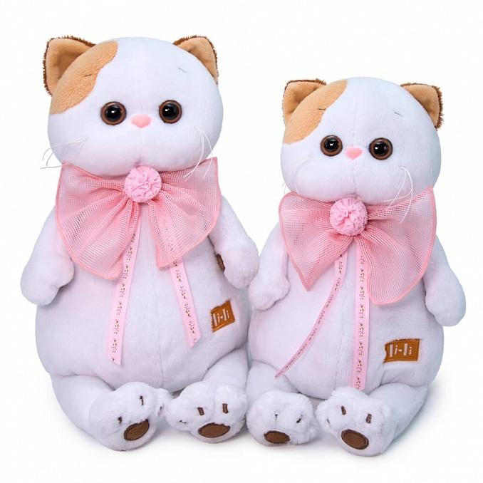 Кошечка Ли-Ли с розовым бантом