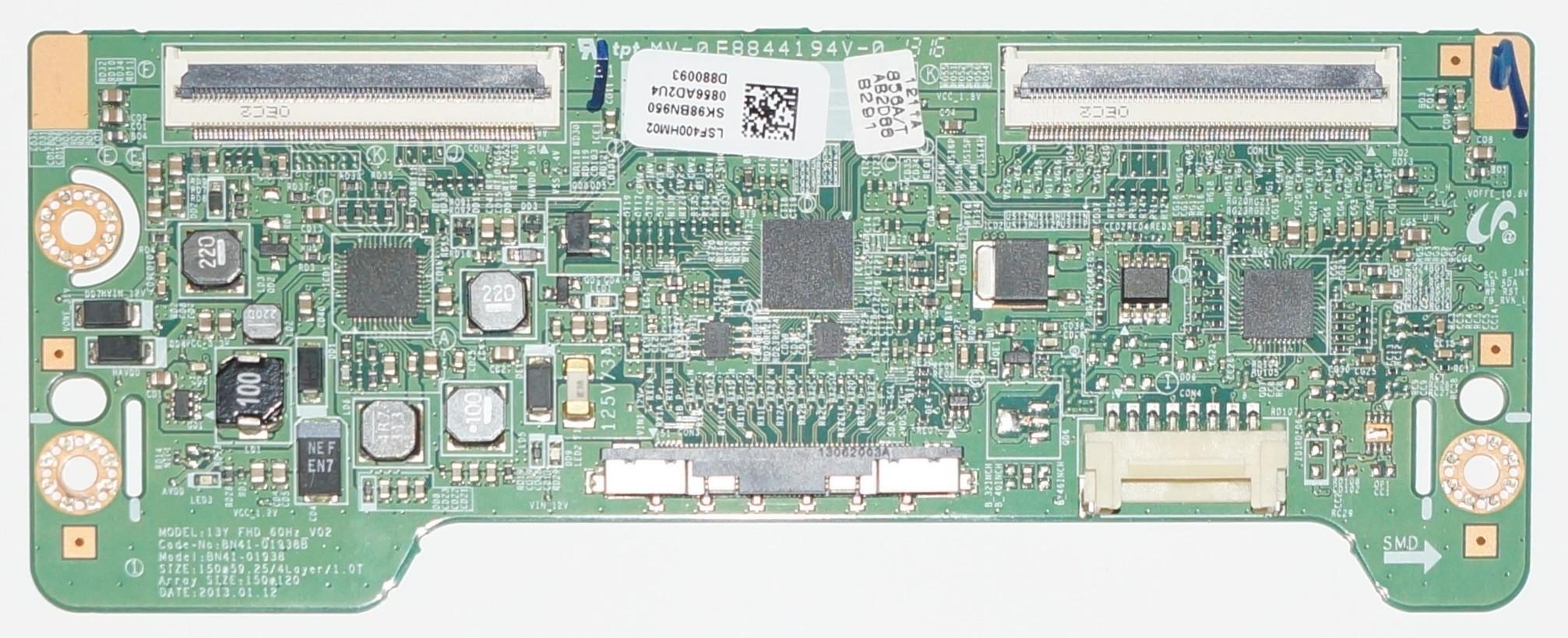 BN41-01938B LSF400HM02 T-con model 13Y FHD_60HZ_V02