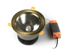 светильник точечный L8809COB-30W-Bronze