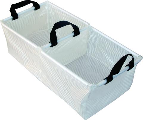 Таз складной, двойной AceCamp Transparent Folding Basin