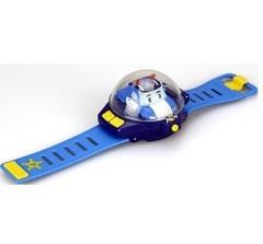 Robocar Poli Часы с мини машинкой на дистанционном управлении (83312)