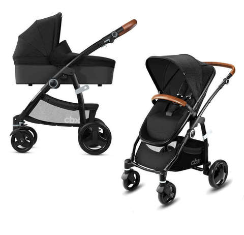 Детская коляска 2 в 1 CBX by Cybex Leotie Lux Smoky Anthracite