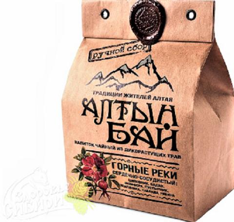 Иван-чай Горные реки сердечно-сосудистый, АлтынБай 100 г