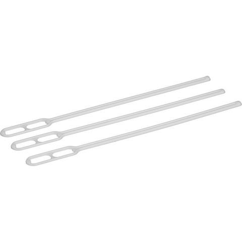 Размешиватель одноразовый Эконом белый 120 мм 500 штук в упаковке