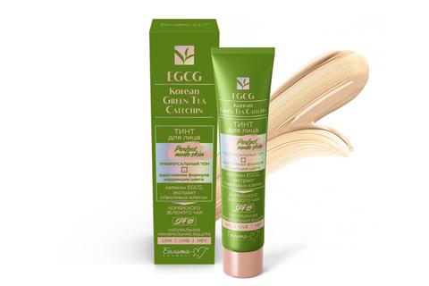 Белита-М EGCG Korean Green Tea Catechin Тинт для лица Perfect Nude Skin SPF 15 универсальный тон 30г