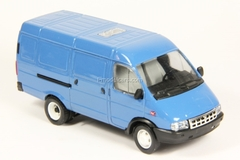 GAZ-2705 Gazelle van second facing blue Agat Mossar Tantal 1:43