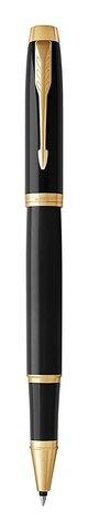 Набор с гравировкой: Ежедневник и Ручка-роллер Parker IM Black GT123