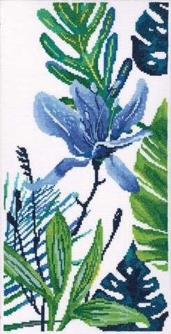 Голубой цветок 2