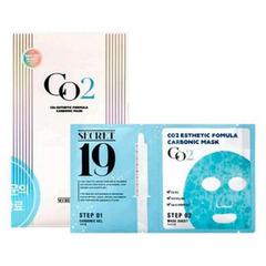 Esthetic House CO2 Esthetic Formula Carbonic Mask - Маска и гель-активатор Карбокситерапия (пауч)
