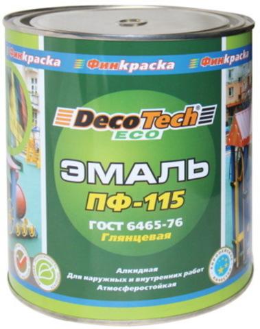 Decotech Eco/Декотек Эко Эмаль ПФ-115