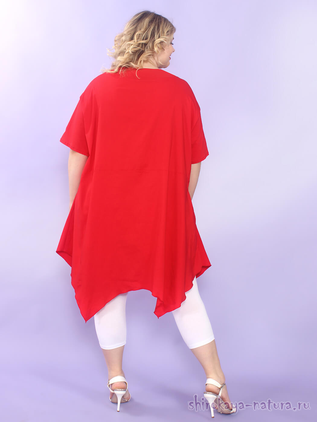 Платье-туника из бенгалина Красотка