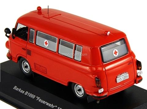 Barkas B1000 Feuerwehr 1970 IST080 IST Models 1:43