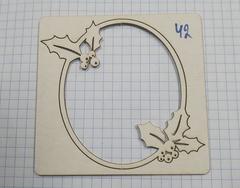 Вырубка из пивного картона 1,2 мм, 1 шт.