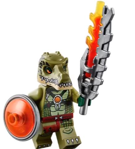 LEGO Chima: Лагерь Клана крокодилов 70231 — Crocodile Tribe — Лего Чима