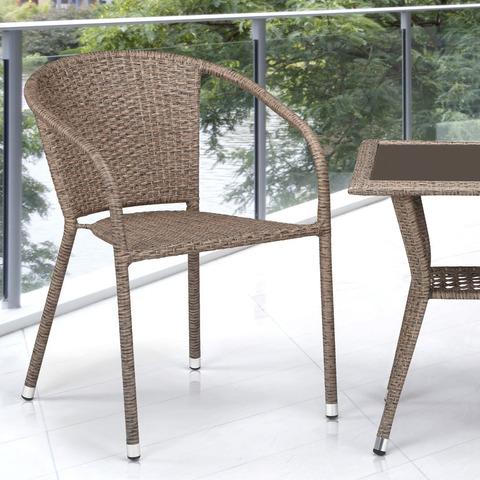 Комплект плетеной мебели T25B/Y137C-W56 Light brown 2Pcs