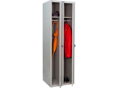 Шкаф медицинский для одежды МД LS(LE)-21 - фото