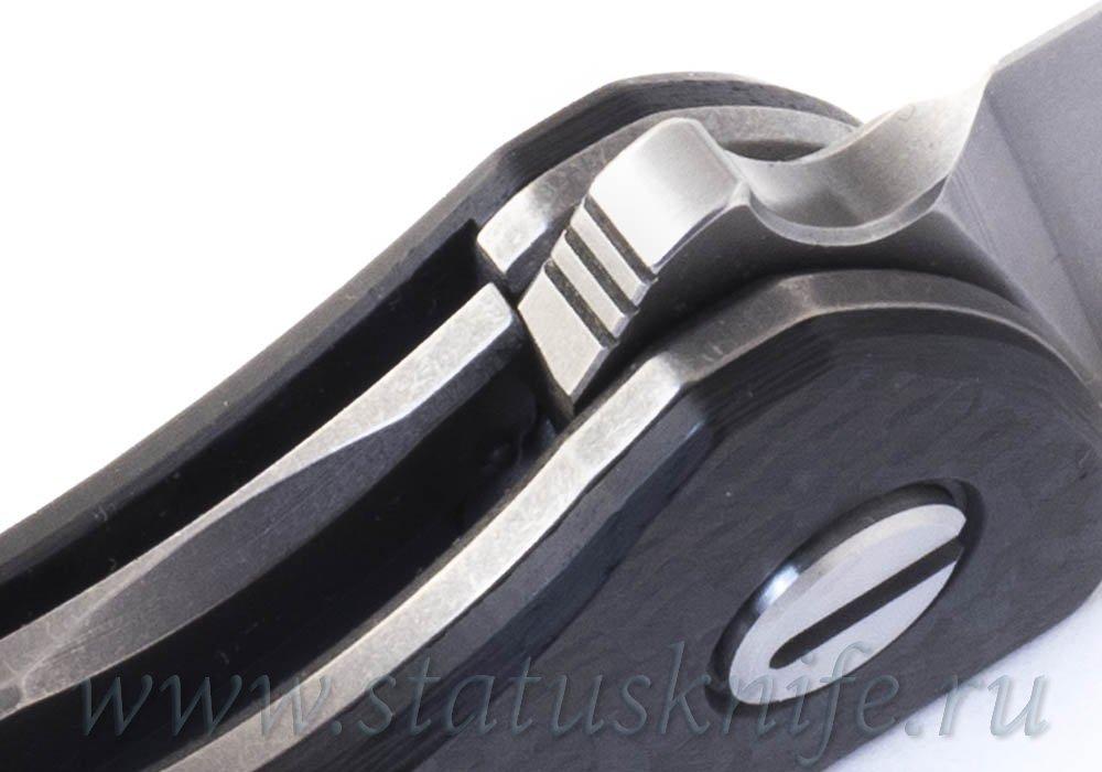 Нож Широгоров Ф3 S90V CF Карбон - фотография