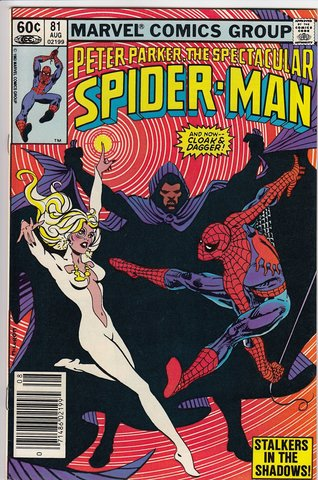 Peter Parker The Spectacular Spider-Man #81 : Stalkers in the Shadows