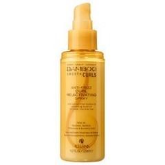 Alterna Bamboo Smooth Curls Anti-Frizz Curl Re-Activating Spray — Полирующий спрей для оживления кудрей