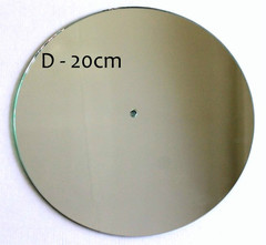 Часы диаметр 20см, зеркало