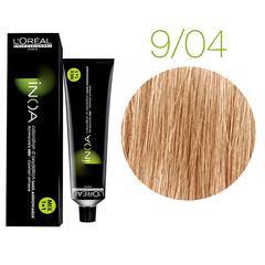 L'Oreal Professionnel INOA 9.04 (Очень светлый блондин натуральный) - Краска для волос