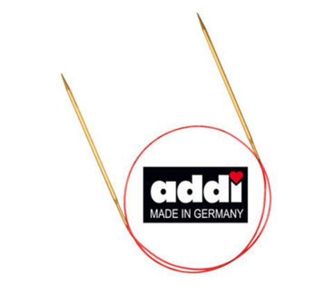 Спицы круговые с удлиненным кончиком, №3.5, 60 см ADDI Германия арт.755-7/3.5-60