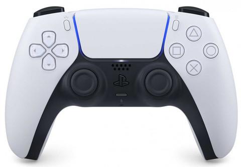 Беспроводной контроллер DualSense (PS5, белый)