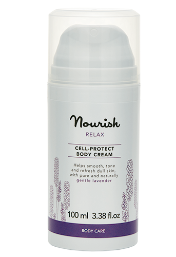Успокаивающий крем для тела для чувствительной кожи, Nourish