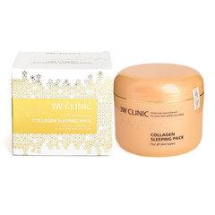 3W Clinic Collagen Sleeping Pack - Маска для лица с коллагеном ночная