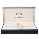 Перьевая ручка Parker Duofold F186 Internatinal Pearl & Black перо M (S0767480)