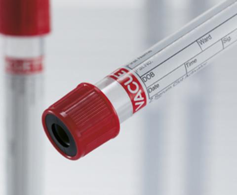 Пробирки вакуумные 4,5 мл 13х75 мм, с наполнителем (