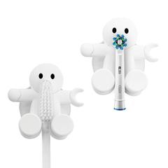 держатель для зубной щётки amico белый