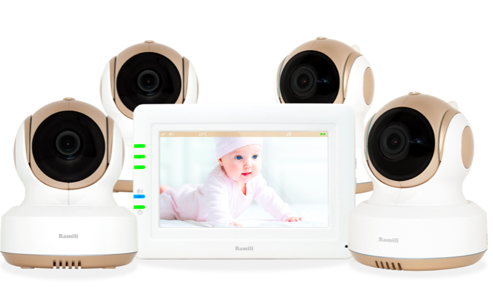 Видеоняня Ramili Baby rv 1000  4 камеры в комплекте