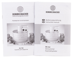 Дегидратор Rommelsbacher DA 750