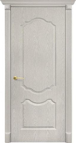 Дверь Канадка Анастасия (беленый дуб, глухая ПВХ), фабрика AIRON