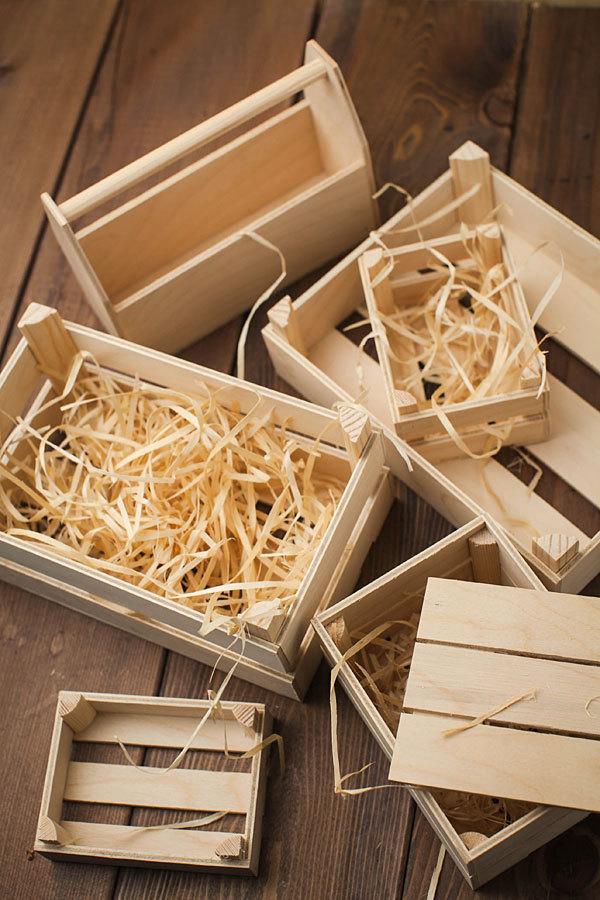 Ящик для мыла ручной работы деревянный средний